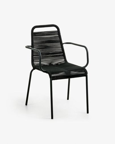 Lambton armchair black