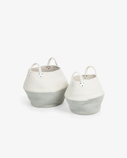 Set of 2 baskets Katja