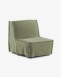 Lyanna sofa bed 90 cm green