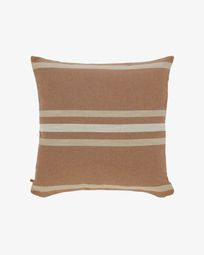 Sydelle striped maroon cushion cover 60 x 60 cm