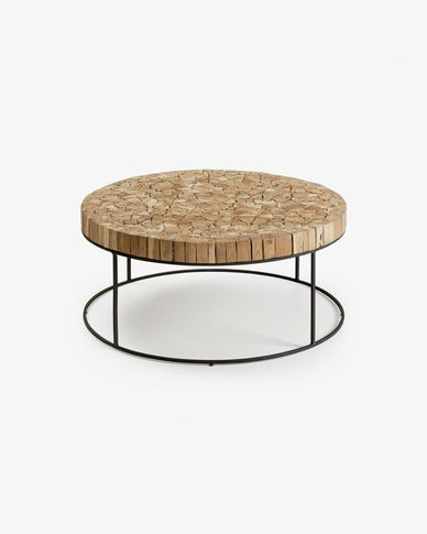 Solo coffee table Ø 80 cm