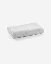 Miekki small bath towel white