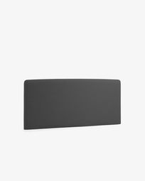 Graphite Dyla headboard cover 168 x 76 cm