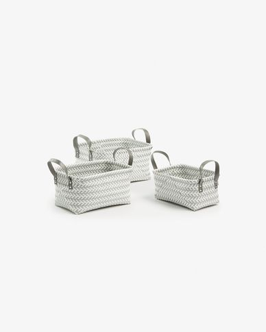 Kimmy set of 3 baskets