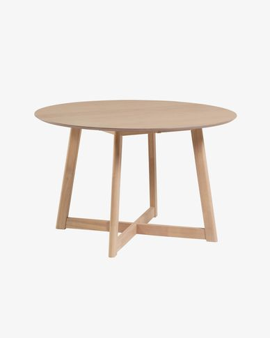 Extendable Maryse 70 (120) x 75 cm table in an oak finish