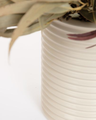 Aleray vase in white