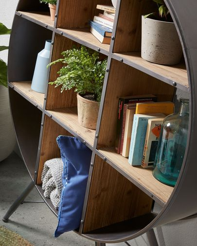 Halie shelving unit 120 x 152 cm