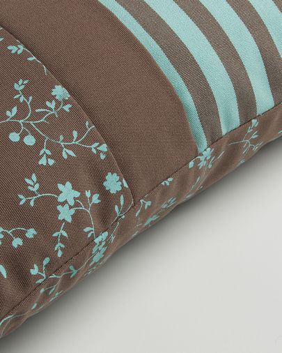 Acqua cushion cover turquoise