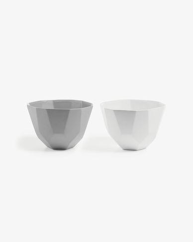 Skip set of 2 bowls
