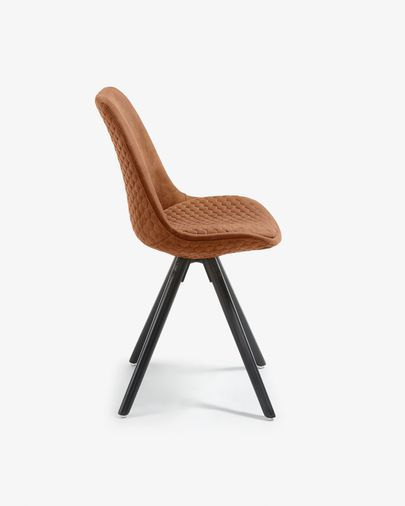 Ralf chair rust brown