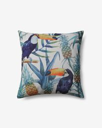 Florida toucans cushion cover