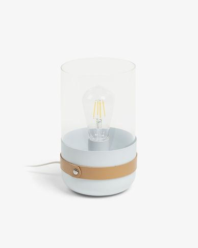 Evelyn table lamp white