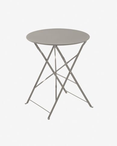 Rond matte grey Alrick table Ø 60 cm