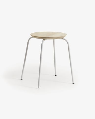 White Ren stool