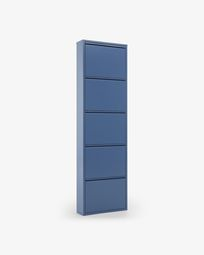 Shoe rack Ode 5 doors blue