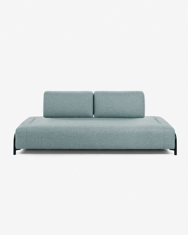 Module 3 seaters Compo turquoise 232 cm