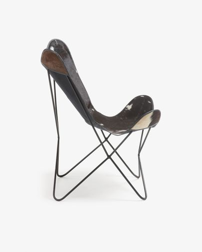 Black and white Fly armchair