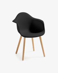 Black Kevya armchair
