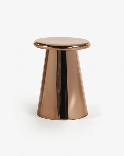 Copper Pitt side table Ø 41 cm