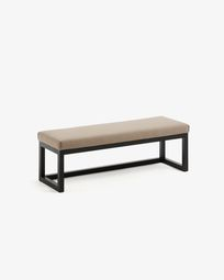 Brown Yola bench 128 cm