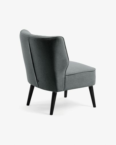 Dark grey Aurora armchair