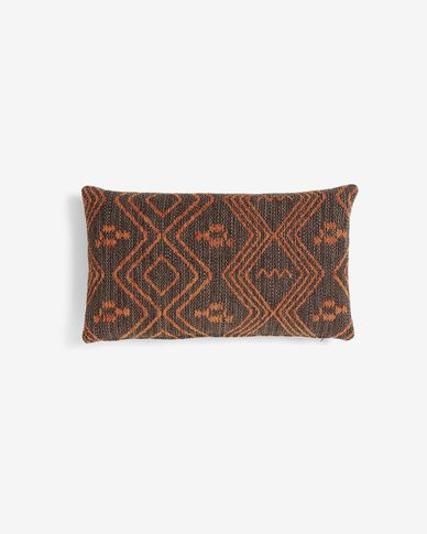Eland cushion cover 30 x 50 cm quartz brown
