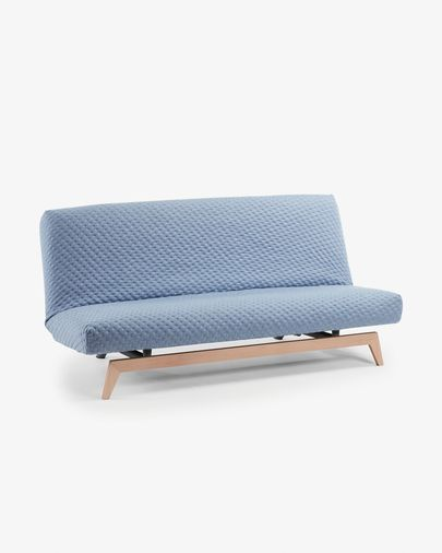 Koki sofa bed quilted, blue