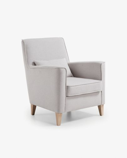 Glam fauteuil beige