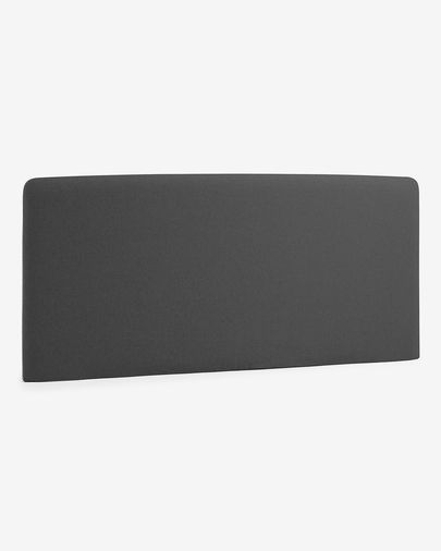 Graphite Dyla headboard cover 178 x 76 cm