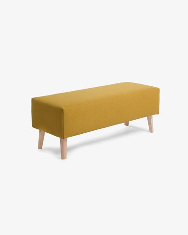 Mustard bench cover Dyla