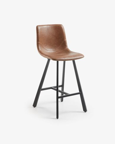 Oxid brown Trap barstool