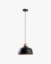 Lampe suspension Bits noir