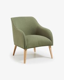 Green Bobly armchair