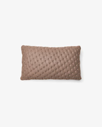 Kam cushion quilted 30 x 50 cm beige
