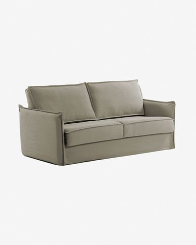Samsa Bettsofa 140 cm visco beige