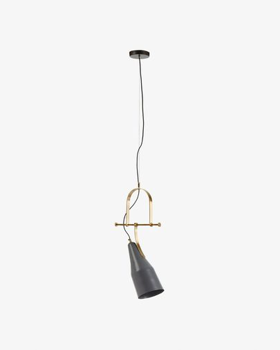 Lampe suspension Zico gris