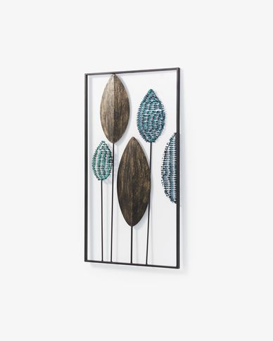 Wall panel Leaves 54 x 104 cm