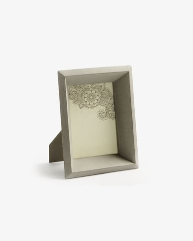 Farbe photo frame grey