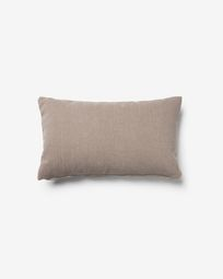 Kam cushion cover 30 x 50 cm brown