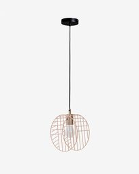 Arietta ceiling lamp in pink