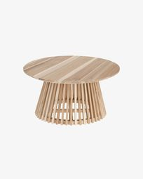 Table basse Jeanette Ø 80 cm naturelle