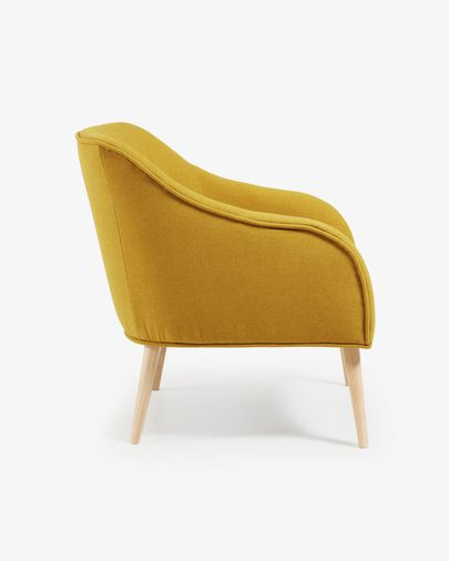 Bobly fauteuil mosterd