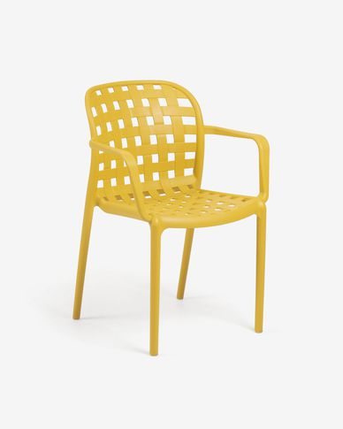 Mustard Isa chair