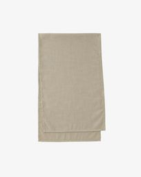 Beige Samay table runner