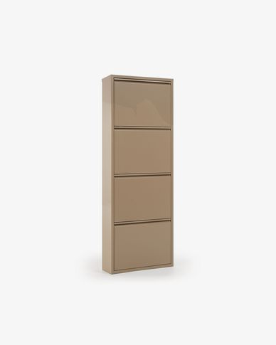 Shoe rack Ode 4 doors beige