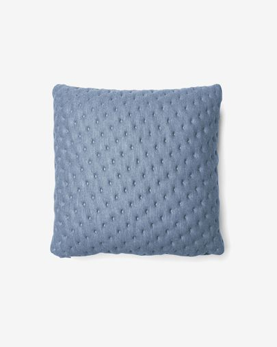 Kam cushion cover quilted 45 x 45 cm light blue
