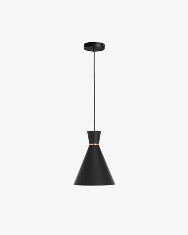 Vesta black lamp shade