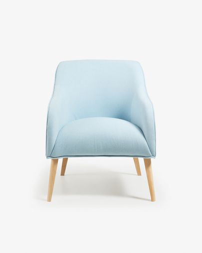 Bobly fauteuil blauw