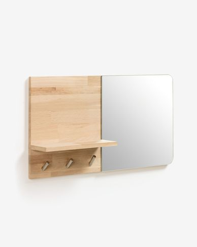 Maiten mirror coat rack 65 x 35 cm