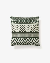 Cushion cover Seward green beige